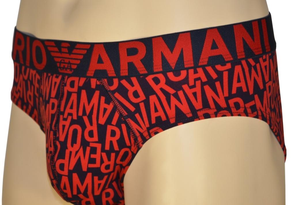 Трусы мужские слипы Emporio Armani 110814 1P506 75135 0