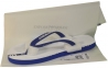 Шлепанцы мужские синие с логотипом от Emporio Armani X4QS04 XM763 N605 1