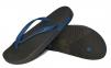 Пляжные тапочки мужские черно-синие от Emporio Armani X4QS03 XM290 N601 0