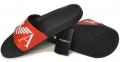 Шлепанцы мужские черные с красным Emporio Armani X4PS06 XM760 N598 0