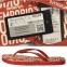 Шлепанцы мужские красные от Emporio Armani X4QS04 XM763 N604 1