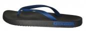Пляжные тапочки мужские черно-синие от Emporio Armani X4QS03 XM290 N601 1