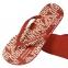 Шлепанцы мужские красные от Emporio Armani X4QS04 XM763 N604 0